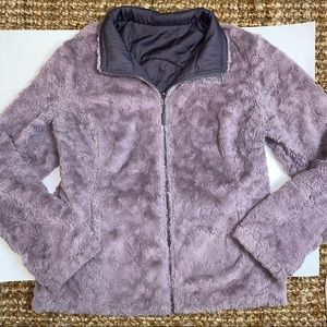 The north face women's small purple jacket coat